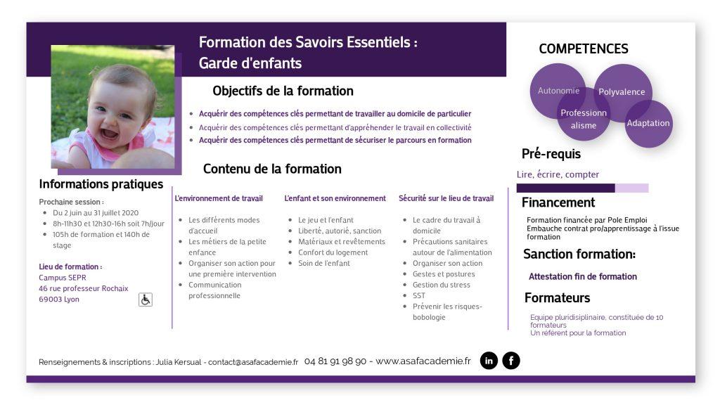 Programme de formation FSE