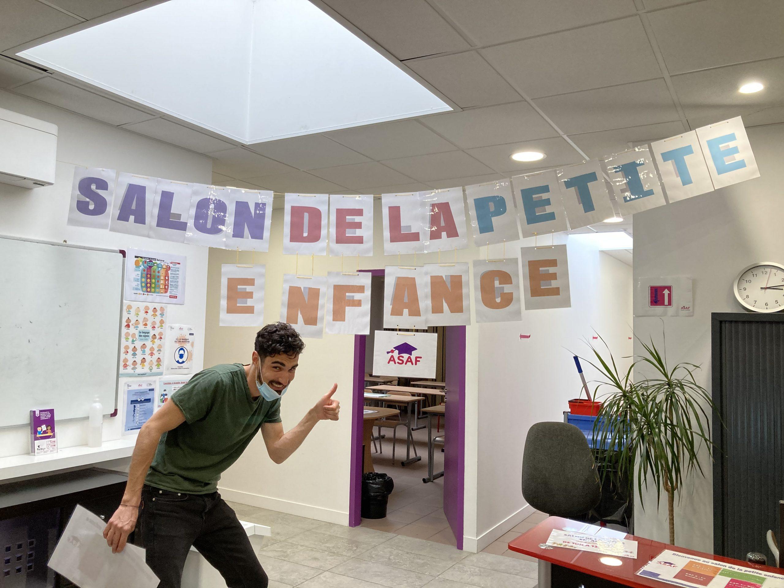 Salon de la Petite Enfance organisé par ASAF et les CAP